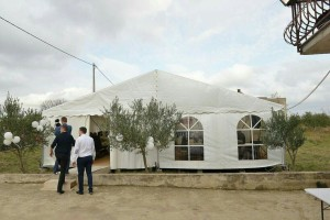 Ulaz u šator Zadar i okolica