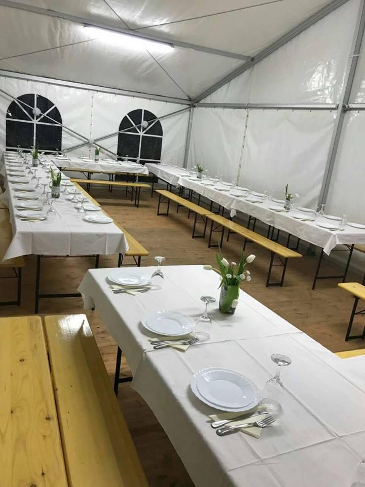 Šator Iznutra Zadar